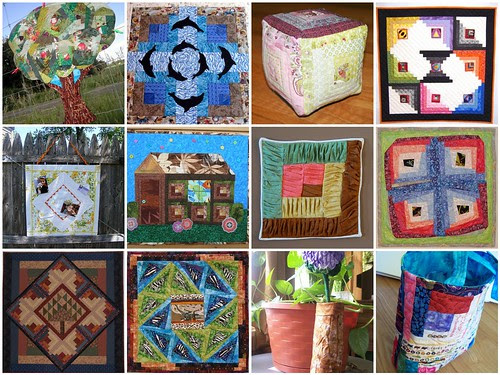 Project Quilting - Log Cabin Entries