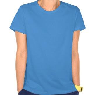 ALS Blue Awareness Ribbon Angel Custom Shirt