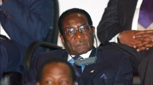 Robert Mugabe in 2003