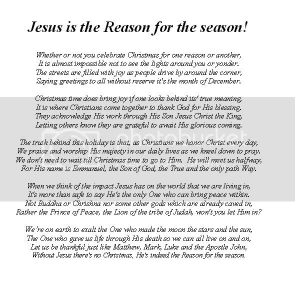 Jesus Is The Reason For the Season! Pictures, Images and Photos