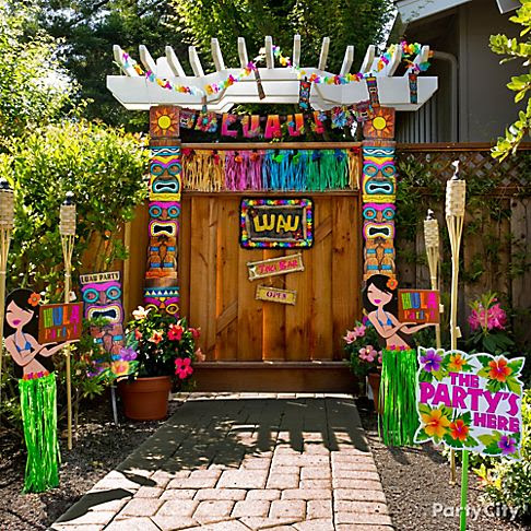 Luau Outdoor Decorations 10 Totally Tiki Party Ideas City