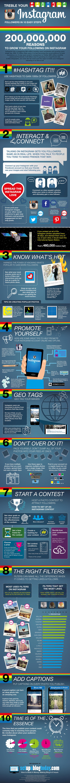 How To Treble Your #Instagram Followers – #Infographic #socialmedia