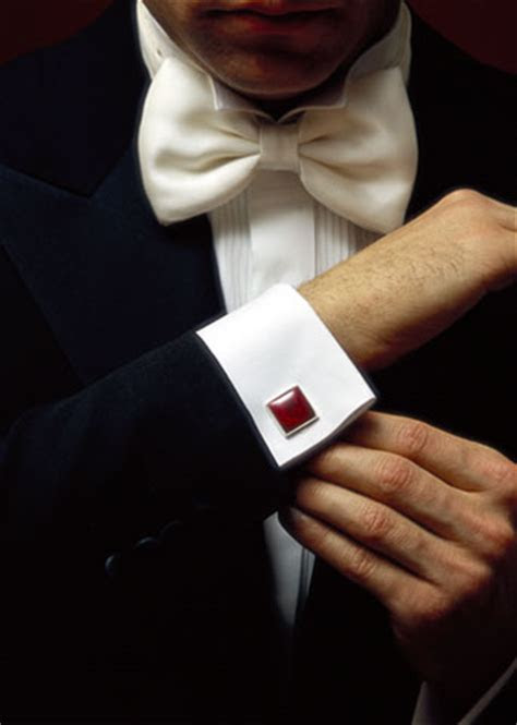 wear cuff links art  style club