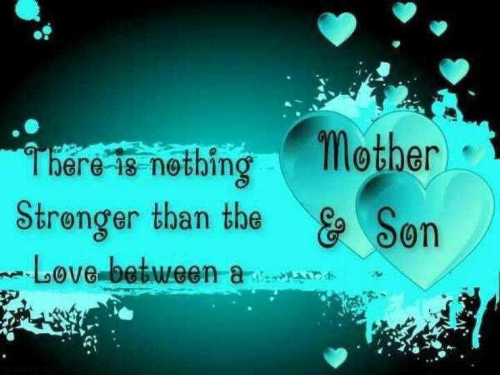 Mother\/Son bond  Quotes  Pinterest