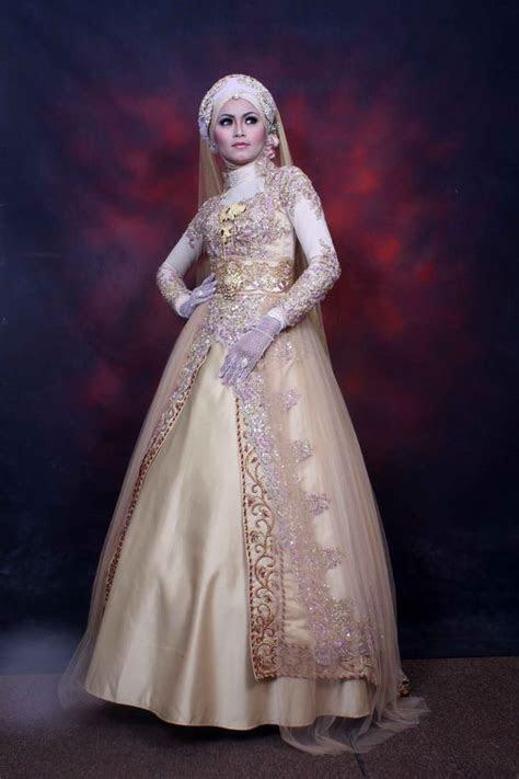 gaun pengantin wanita muslimah picture weding collection