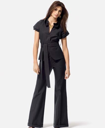 womens black pants jumpsuit