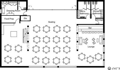 "Possible layout of a wedding reception   PasP ""Mix"