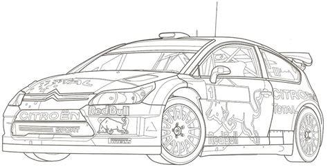 Macchine Rally Da Colorare Powermall