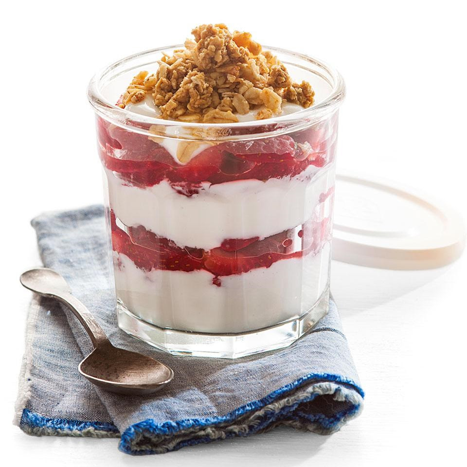 Strawberry & Yogurt Parfait Recipe - EatingWell