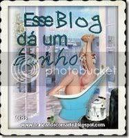 Prémio Esse Blog dá um Banho, concedido em 10.10.2008 por Márcia, do Blog Receitas Grátis