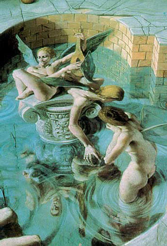Muses by Kurt Wenner