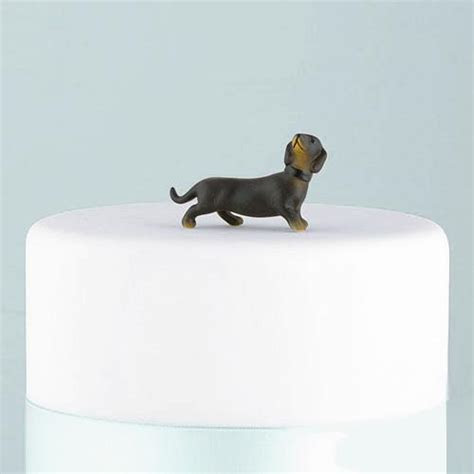 Dachshund Wedding Cake Dog Figurine ? Candy Cake Weddings