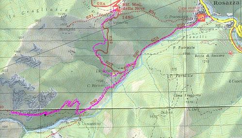 Percoso Cartografico Gragliasca