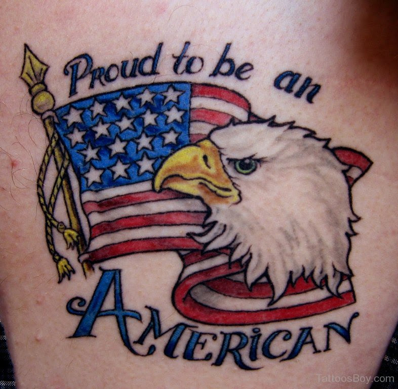 American Flag And Eagle Tattoo Tattoo Designs Tattoo Pictures