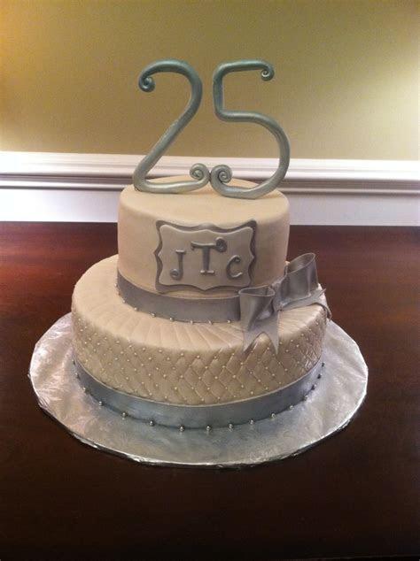 25th Wedding Anniversary Cake   my cakes   Pinterest