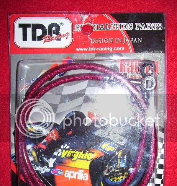 d'zhijaya racing shop (soppeng): Slang Rem TDR logo TDR