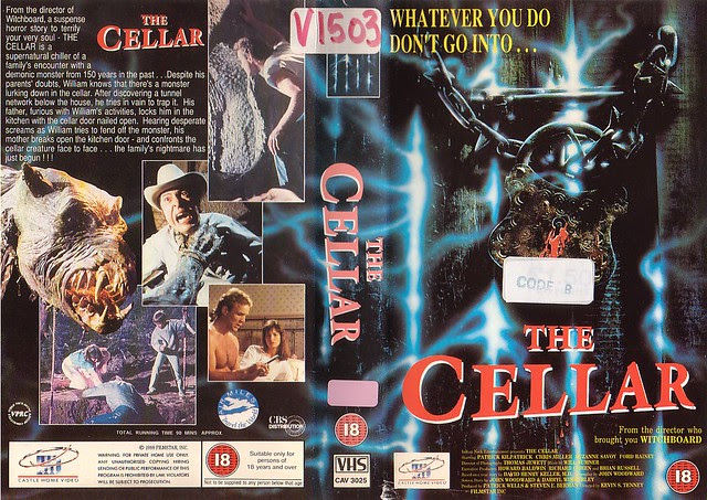 The Cellar (VHS Box Art)