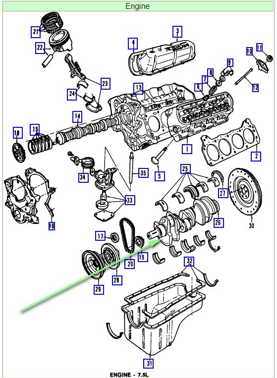 Ford F 250 460 Engine Diagram