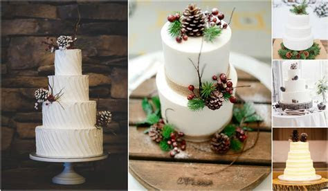 10 Pinecone Wedding Cakes You Will Pine For   Rustic