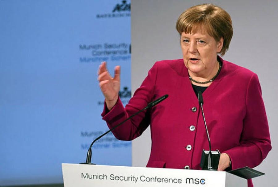 Διάσκεψη για την Ασφάλεια: Σφοδρή επίθεση της Merkel στον απομονωτισμό των ΗΠΑ