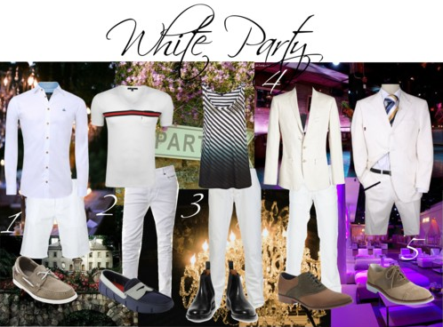 Mens Fashion The Perfect White Party Look Raannt