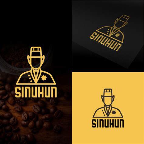 desain logo keren  coffee shop kedai kopi sinuhun