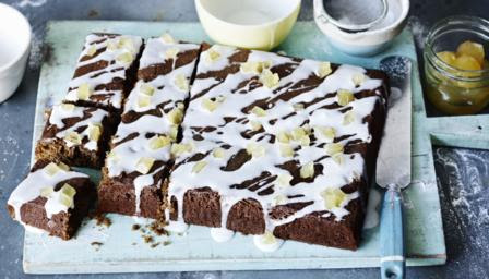 BBC Food - Recipes - Ginger and treacle spiced traybake