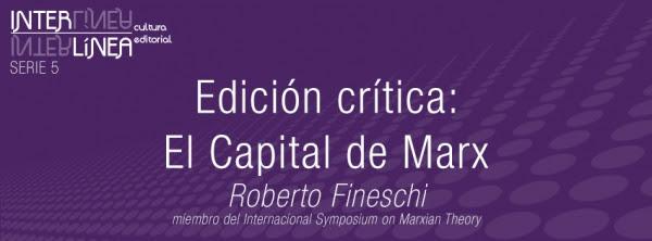 Edición crítica: El Capital de Marx