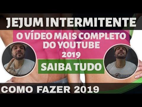JEJUM INTERMITENTE para Iniciantes 2019 . Como Fazer e Melhor Forma. Emagrecer sem Dieta