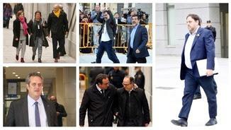 Els nou dirigents independentistes que estan empresonats (ACN)