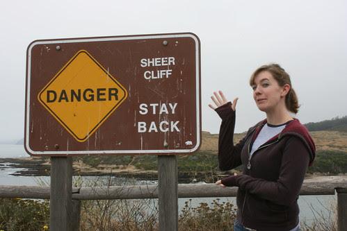 Danger, Maggie! Stay Back!