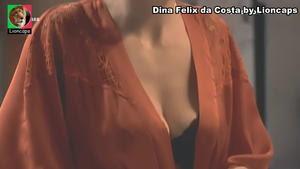 Dina Felix da Costa sensual na novela Amar depois de amar