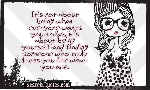 Being Yourself And Not Pleasing Everyone Quotes Quotations