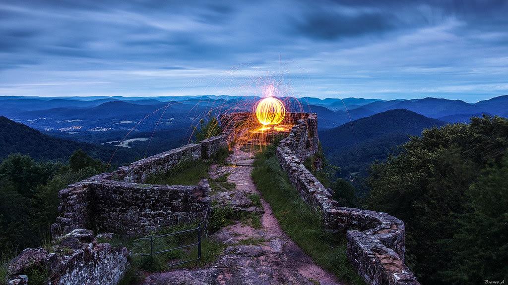 The Beacon Of The Wegelnburg To Visit On The Highest