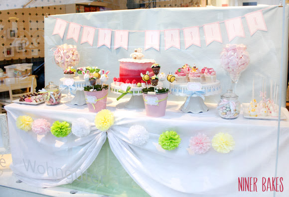 easter spring candy bar - sweet table - niner bakes 01
