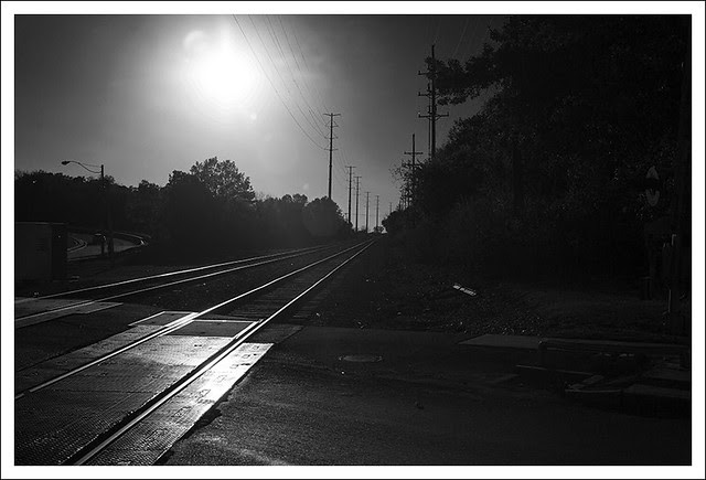 Tracks At Sunset, Webster Groves