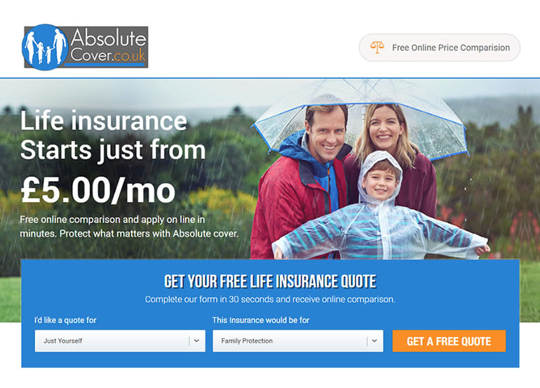 Absolute Cover Life Insurance - Get a Free Quote ...