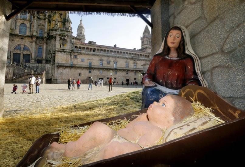El niño Jesús 'vuelve' al belén