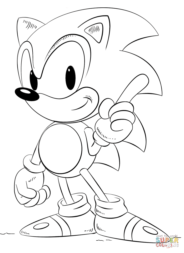 Sonic Boom Drawing at GetDrawings   Free download