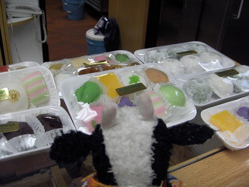Colorful mochis