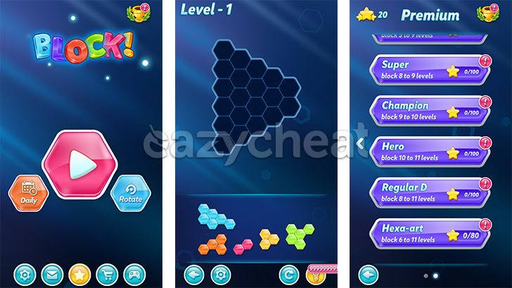 Block! Hexa Puzzle v1.1.17 Cheats