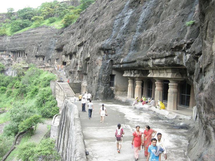 Maravilhas do mundo - As grutas perdidas de Ajanta, na Índia