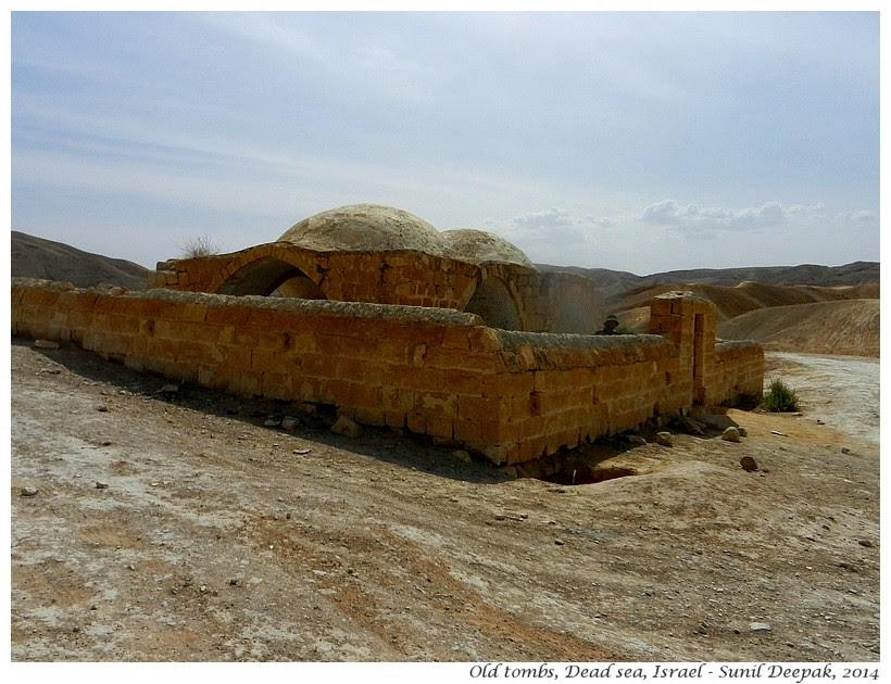Abandoned mausoleum, Dead Sea, Israel - Images by Sunil Deepak