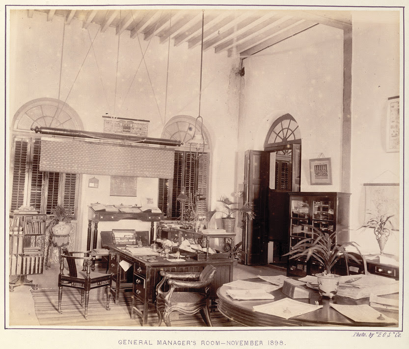 General Manager's room ['Times of India'], - November 1898.