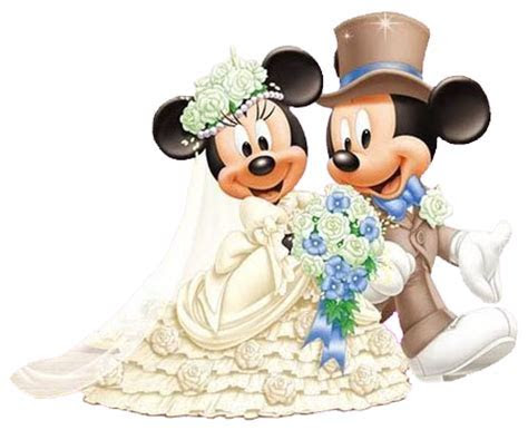 Groom & Bride Mickey & Minnie   trouwen   ?????, ?????
