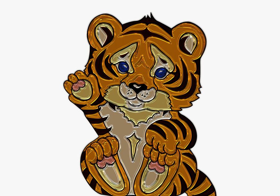 Paling Populer 30 Gambar Anak Harimau Kartun - Miki Kartun