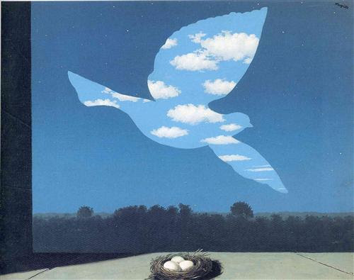 The Return - Rene Magritte