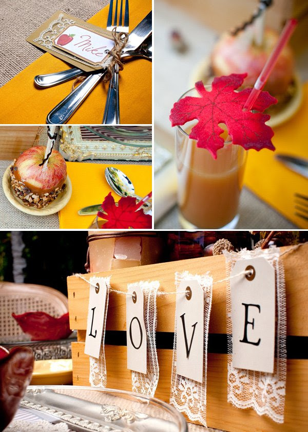 Gorgeous Autumn Apple Engagement Party Hostess With The Mostess