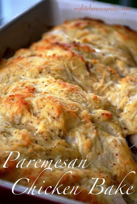 baked chicken parmesan recipe dishmaps