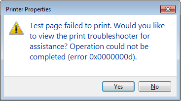windows cannot connect to the printer 0x00003eb